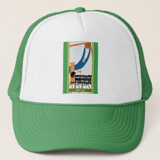 1930 World Cup Football Poster Trucker Hat