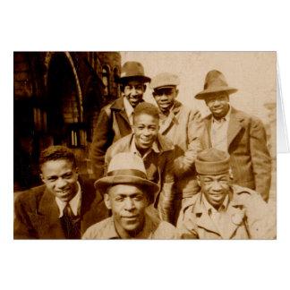 1930s boyz from the hood RPPC Card