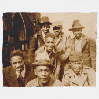 1930s boyz from the hood RPPC Fleece Blanket