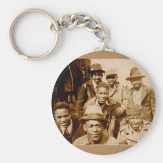 1930s boyz from the hood RPPC Keychain