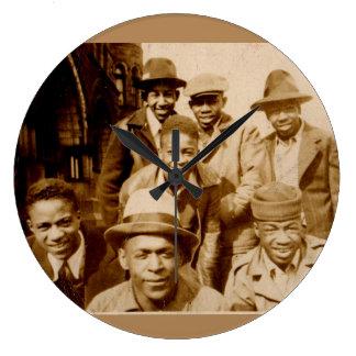 1930s boyz from the hood RPPC Large Clock