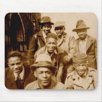 1930s boyz from the hood RPPC Mouse Pad