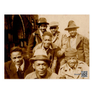 1930s boyz from the hood RPPC Postcard