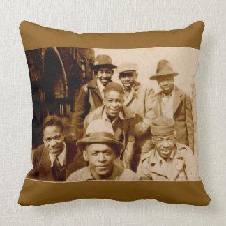 1930s boyz from the hood RPPC Throw Pillow