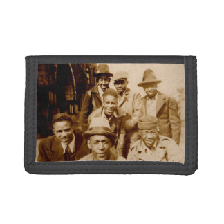1930s boyz from the hood RPPC Trifold Wallets