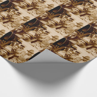 1930s boyz from the hood RPPC Wrapping Paper