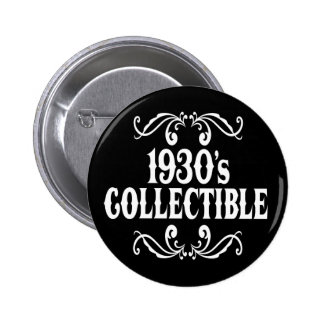 1930's Collectible 70th 75th Birthday Pins