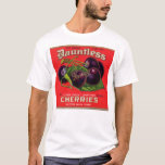 1930s Dauntless Cherries in Heavy Syrup can label T-Shirt