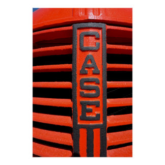 1930's ERA CASE TRACTOR GRILL Poster