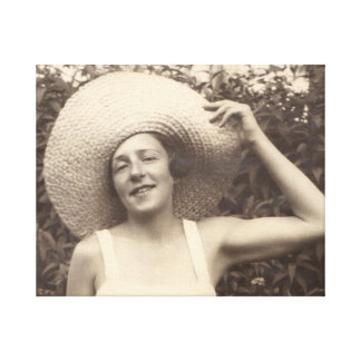 1930s fashion attitude canvas