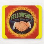 1930s Fellowship Orange County Citrus label Mouse Pad