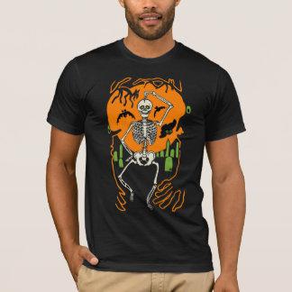 1930s Halloween Dancing Skeleton T-Shirt