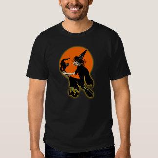 1930s Halloween Witch Shirt