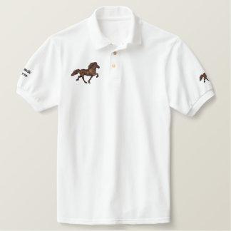 1930's Icelandic Embroidery Polo Shirt