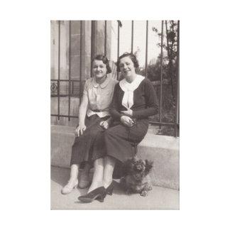 1930s in Paris canvas