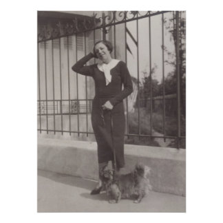 1930s in Paris poster
