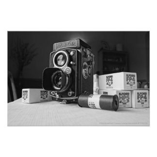 1930s ROLLEIFLEX II camera Automat 6x6 MODEL RF 11 Photo Print