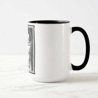 1930s Spectacles Face by FacePrints Mug