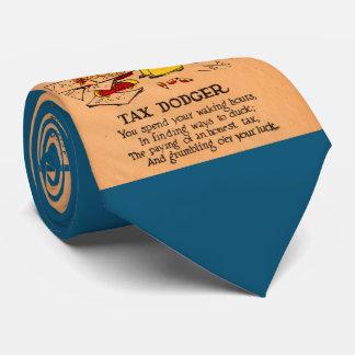 1930s vinegar valentine Tax Dodger Neck Tie