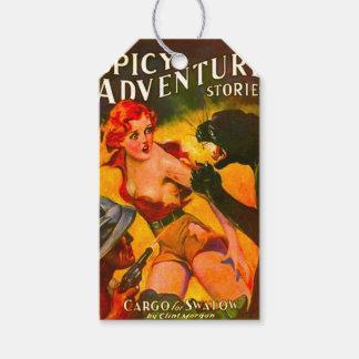 1930's VINTAGE PULP - RETRO Custom Gift Tags