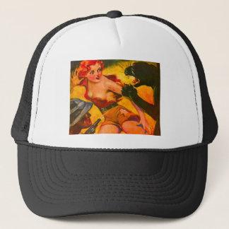 1930's VINTAGE PULP Trucker Hat