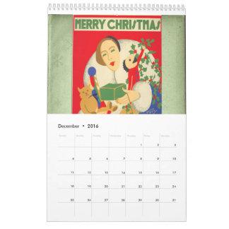 1930s Wall Calendar
