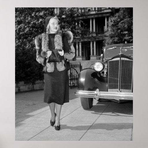 1930s Women's Fashion Posters