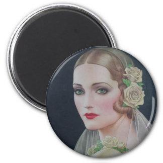 1931 Bride Magnet