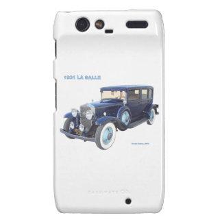 1931 CADILLAC LA SALLE MOTOROLA DROID RAZR CASE