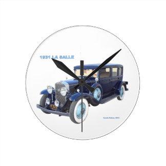 1931 CADILLAC LA SALLE ROUND CLOCKS