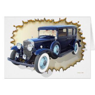 1931 Cadillac LaSalle Card