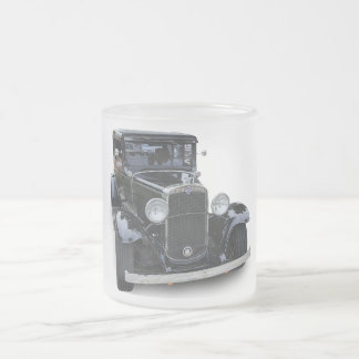 1931 CHEVROLET FROSTED GLASS COFFEE MUG
