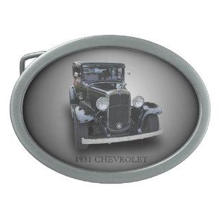 1931 CHEVROLET OVAL BELT BUCKLE