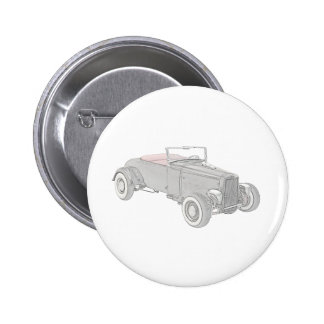1931 Ford Hot Rod Buttons
