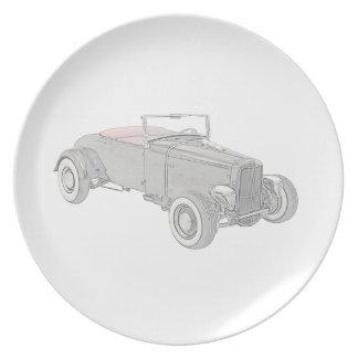 1931 Ford Hot Rod Dinner Plate