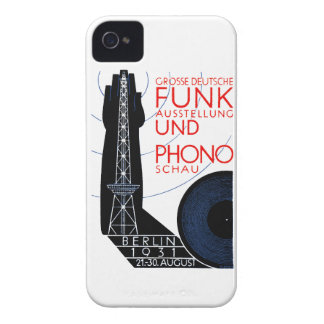 1931 German Radio and Music Expo iPhone 4 Cases