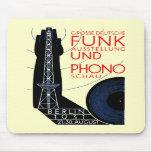 1931 German Radio and Music Expo Mousepads