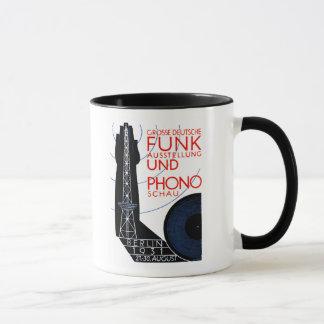1931 German Radio and Music Expo Mug