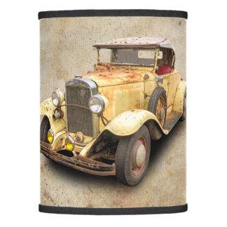 1931 VINTAGE CAR LAMP SHADE