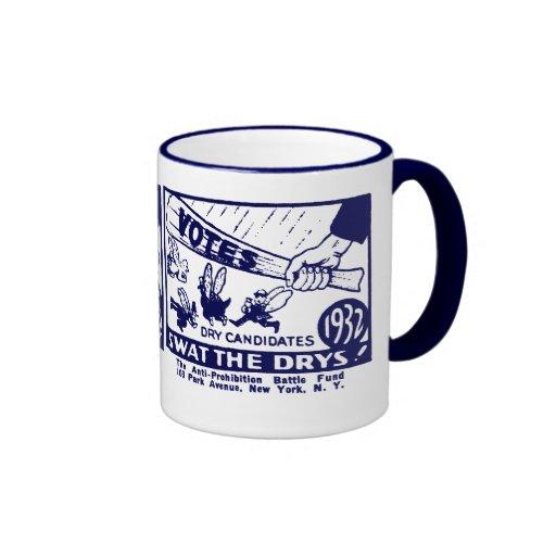 1932 Anti-Prohibition Campaign Coffee Mug