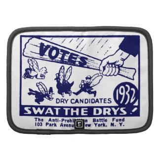 1932 Anti-Prohibition Campaign Folio Planners
