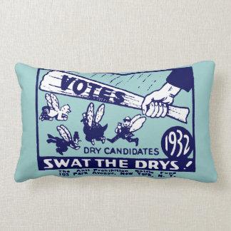 1932 Anti-Prohibition Campaign Pillow