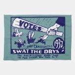 1932 Anti-Prohibition Campaign Towels