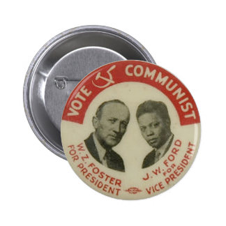 1932 botón de la elección presidencial CPUSA