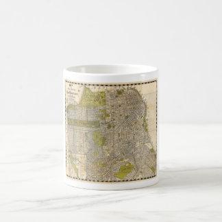 1932 Candrain Map of San Francisco California Coffee Mug