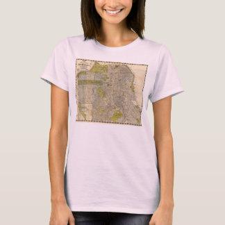 1932 Candrain Map of San Francisco California T-Shirt