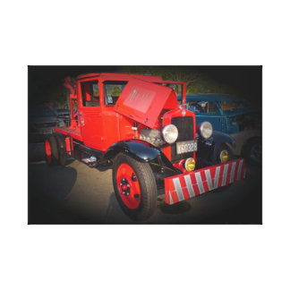 1932 CHEVY TOW TRUCK CANVAS PRINT