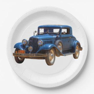 1932 CHRYSLER 9 INCH PAPER PLATE