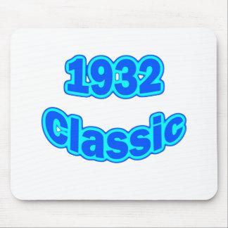 1932 Classic Blue Mousepad