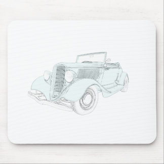 1932 Ford - green Mouse Pad